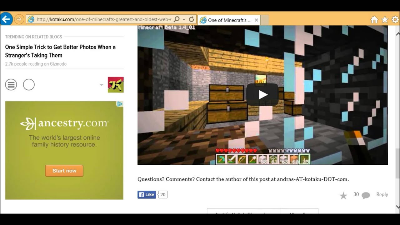 4 Year Anniversary of Xs Adventures in Minecraft! - YouTube