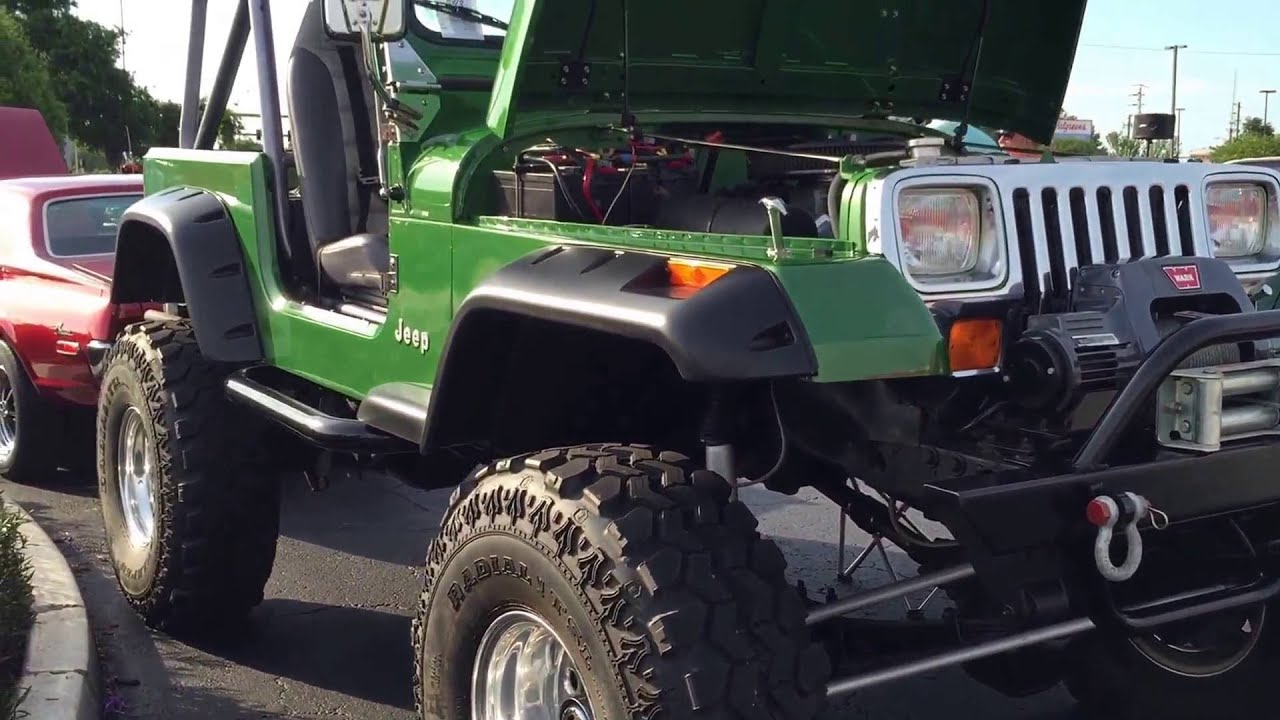 Classic Jeep Lifted Mud Tires Custom Jeeps Trucks - YouTube