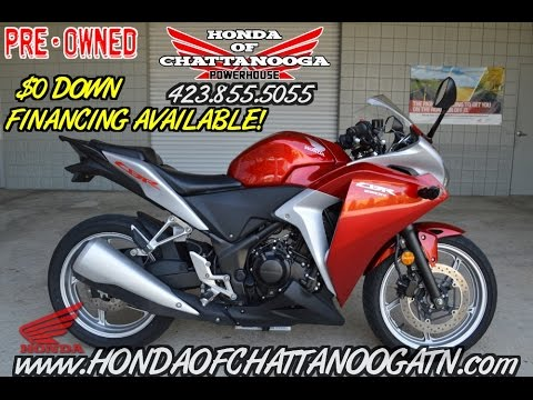 Used 2012 Honda CBR250R Sport Bike / Motorcycle For Sale - Chattanooga TN  GA AL area Dealership