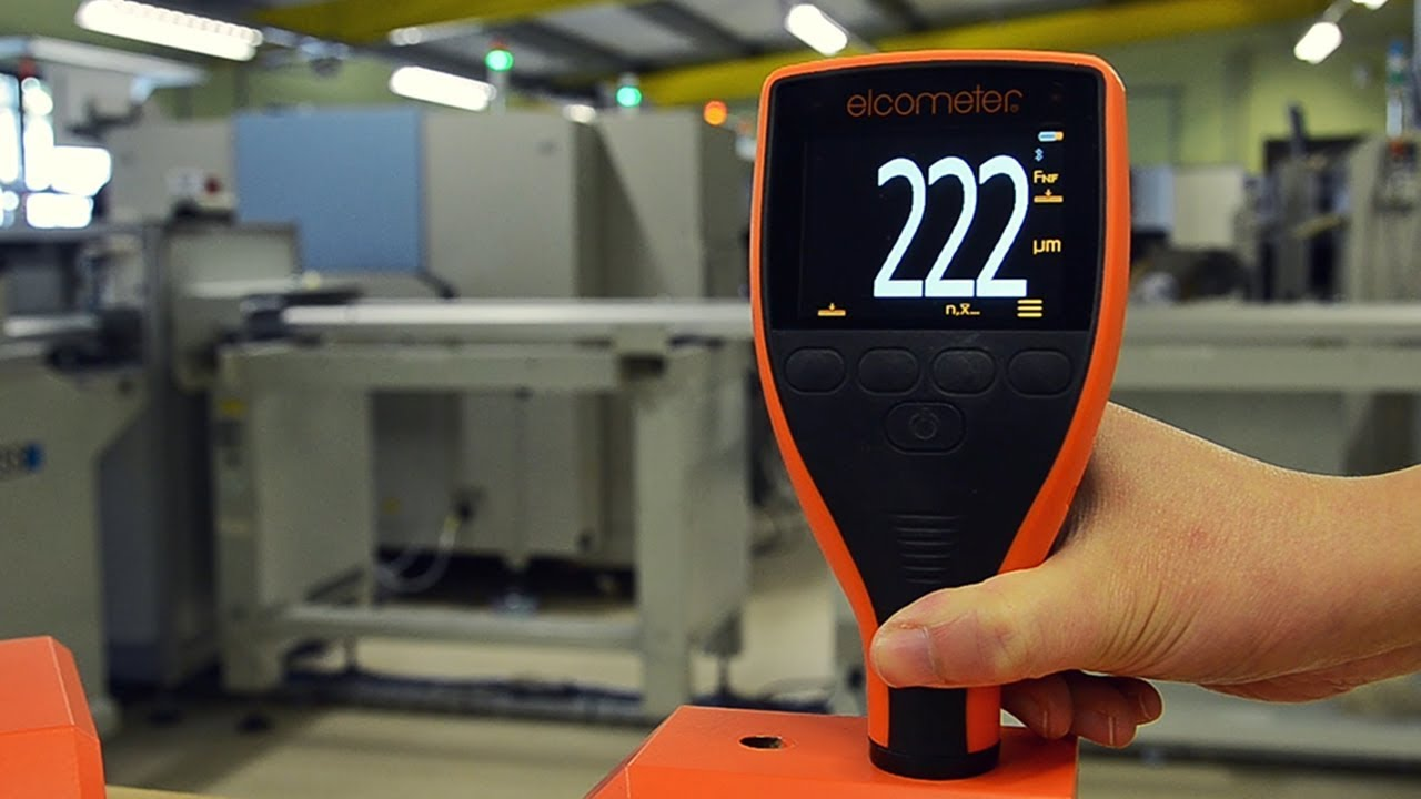 How To Measure Dry Film Thickness Using An Elcometer 415
