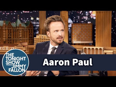 Aaron Paul Is Obsessed with Stranger Things