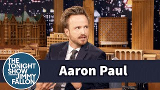 Aaron Paul Is Obsessed with Stranger Things by : The Tonight Show Starring Jimmy Fallon