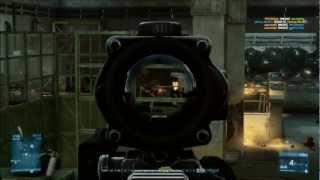 Battlefield 3 | Winning Gun Master Gameplay | 1080p HD