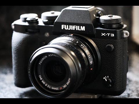 Fujifilm 23mm f2 lens review - includes example footage