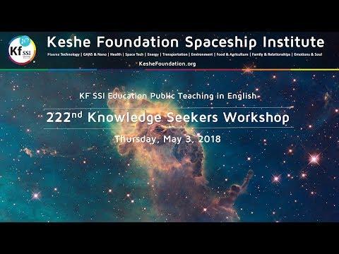 222nd Knowledge Seekers Workshop - May 3, 2018