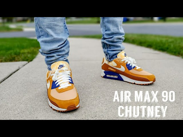 Air Max 90 Chutney Unboxing & On Feet - YouTube