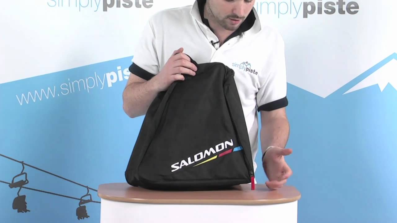 Salomon Boot Bag - Black - www.simplypiste.com - YouTube 32243dbc74