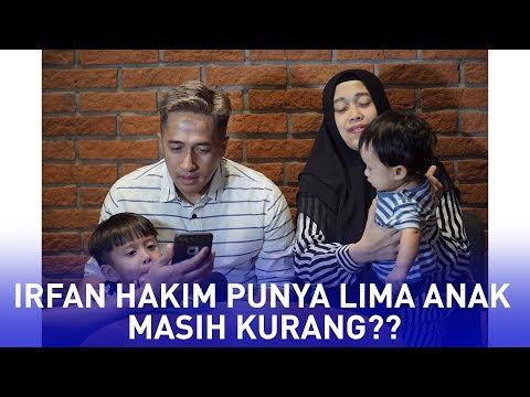 Alasan Irfan Hakim Ngebet Punya 7 Anak
