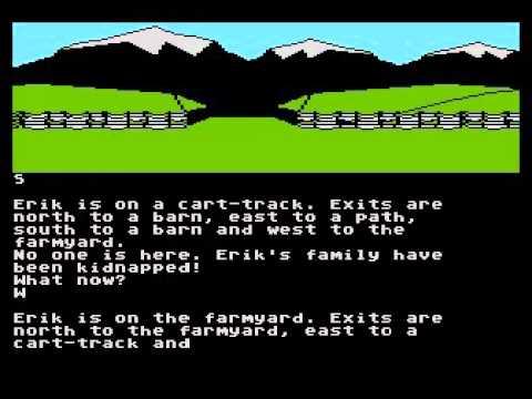 saga of erik the viking for Atari 8-bit