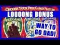 😮My Dad's LOONNNG Bonanza Bonus #RETRIGGER + Mom's Betty Boop!! ✦ Slot Machine Pokies w Brian C
