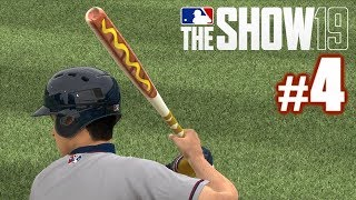 MY BAT IS A HOT DOG! | MLB The Show 19 | Road to the Show #4