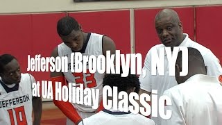 Jefferson (Brooklyn, NY) at the 2014 Under Armour Holiday Classic