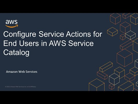 Configure Service Actions for End Users in AWS Service Catalog