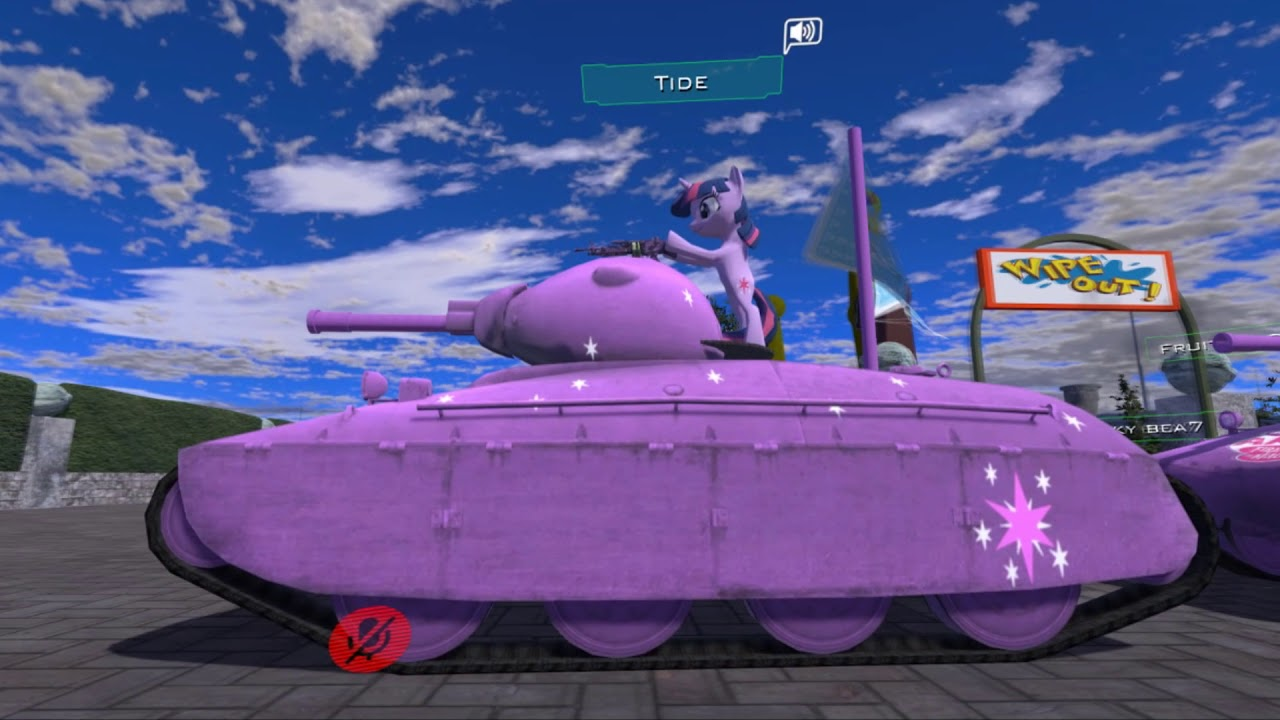 MLP tank parade in VrChat #4