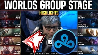 GRF vs C9 Highlights Worlds 2019 Group Stage Day 6 - Griffin vs Cloud9 Highlights Worlds 2019