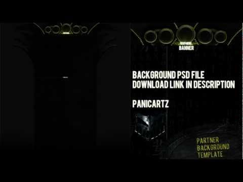 Sci-Fi Partner Background PSD File! Free Download Link | PanicArtz.