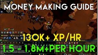 RuneScape 3 Money Making Guide 1.5m - 1.8m + per hour P2p 2014 Commentary