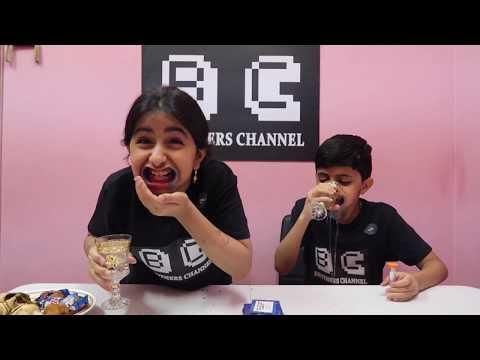 تحدي الفم العملاق ، وهج جابت العيد 🤣   Mouth Full Challenge