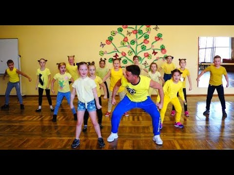 ZUMBA KIDS - Electronic Song - Minions