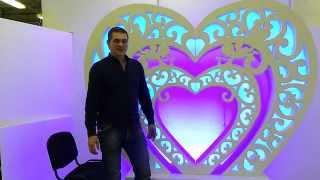 Красивая арка на свадьбу(, 2015-03-24T08:40:24.000Z)