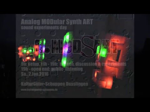 A.MODsART 2016: Analog Modular Synth Art