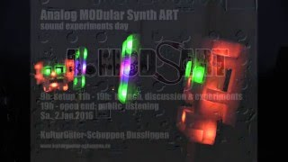 A.MODsART 2016: Analog Modular Synth Art