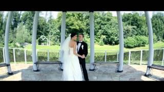 Игорь и Юлия - свадебная съемка Киев студия Марка