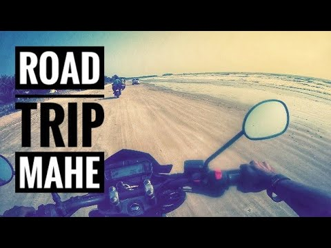 Ride to Mahé(puducherry) | Coimbatore to Mahe part 1 | Drive in beach