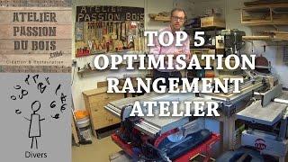 top 5 conseils pour optimiser le rangement de son atelier