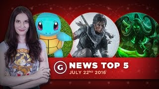Rise of the Tomb Raider PS4 Release & No Man's Sky Combat! - GS News Top 5