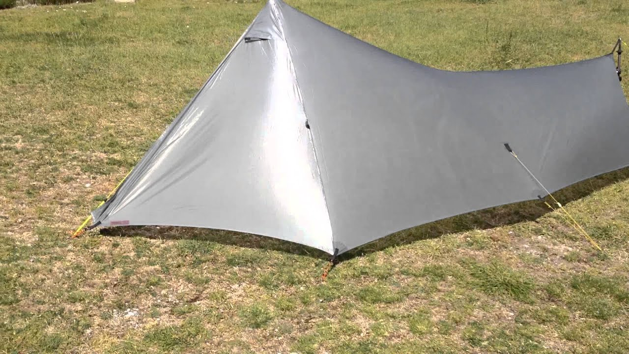 The Stealth  test de tenue au vent : stealth tent - memphite.com