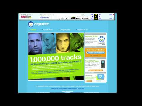 1999-2011 The History of Napster: Two extremes within the same name