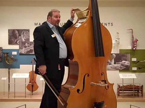 Octobass @ the Musical Instrument Museum