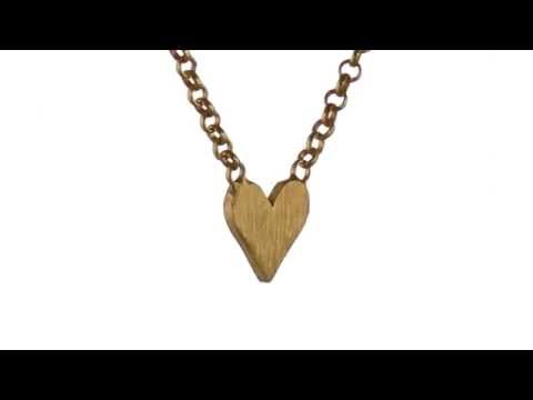 Dogeared You Are Loved Simple Heart Necklace SKU:8533035