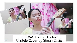 BUWAN by juan karlos | Ukulele Cover with Chords by Shean Casio (praktis pero nirecord)