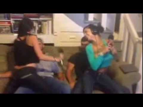 Bonnie Rotten and Alektra Blue Give Lap Dance to Shane Wow and Pizza Boy