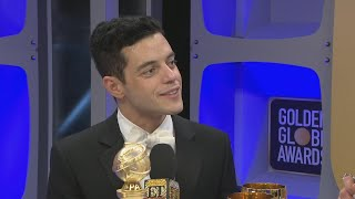 Rami Malek Awkwardly Snubbed By Nicole Kidman at Golden Globes