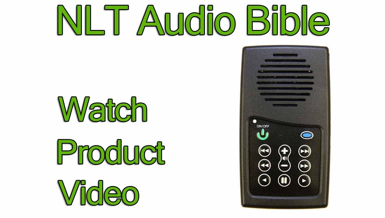 NLT Audio Bible Player (Product Review) | New Living Translation Version