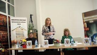 """Partea a II-a  Lansarea volumului de poezii  """"Ce fac cu tine, Viață?!"""" -  prof. Mirela Ciolacu"""