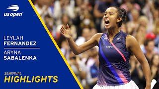 Leylah Fernandez vs Aryna Sabalenka Highlights