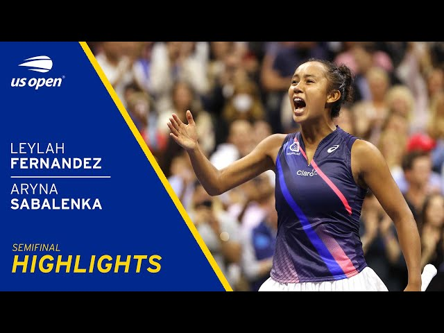 Leylah Fernandez vs Aryna Sabalenka Highlights | 2021 US Open Semifinal