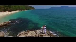 красивая свадебная церемония на Пхукете в Таиланде