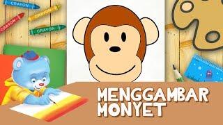 Menggambar Monyet