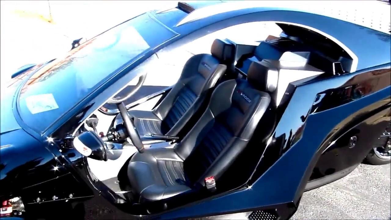 Invader 3 wheel reverse trike 4 cyl engine rear wheel drive