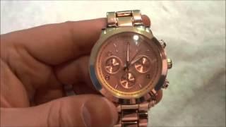 Michael Kors Rose Gold Watch Review (MK-C7832)