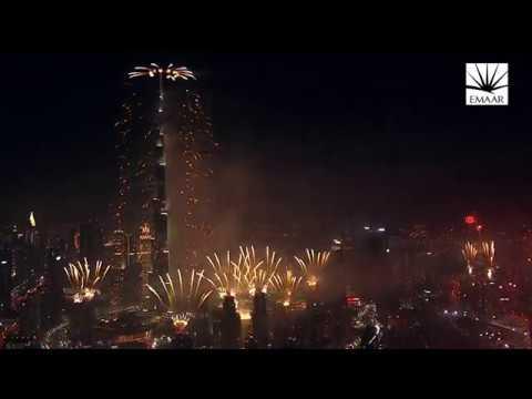 Download Downtown Dubai 2017 NYE - Short Highlight Video