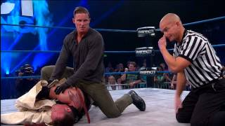 Repeat youtube video Straitjacket Match: Mr. Anderson vs. Samuel Shaw (April 3, 2014)