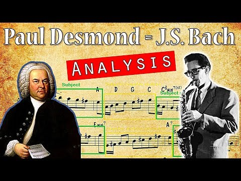 How Paul Desmond Improvised Counterpoint Like J.S. Bach