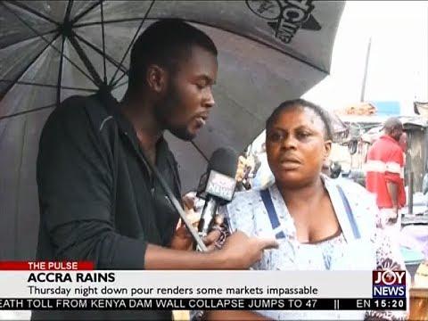 Accra Rains - The Pulse on Joy News (11-5-18)