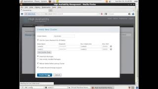 redhat Cluster suite - Part 2 ( LAB 1 , HA Web Server )